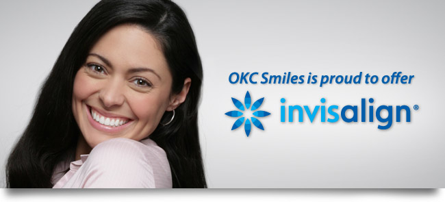 Clear braces straighten Oklahoma City teeth without the metal